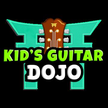 kids guitar dojo Logo