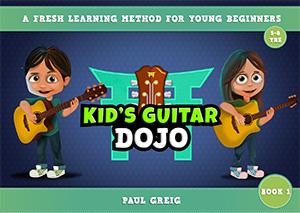 kids guitar dojo book 1